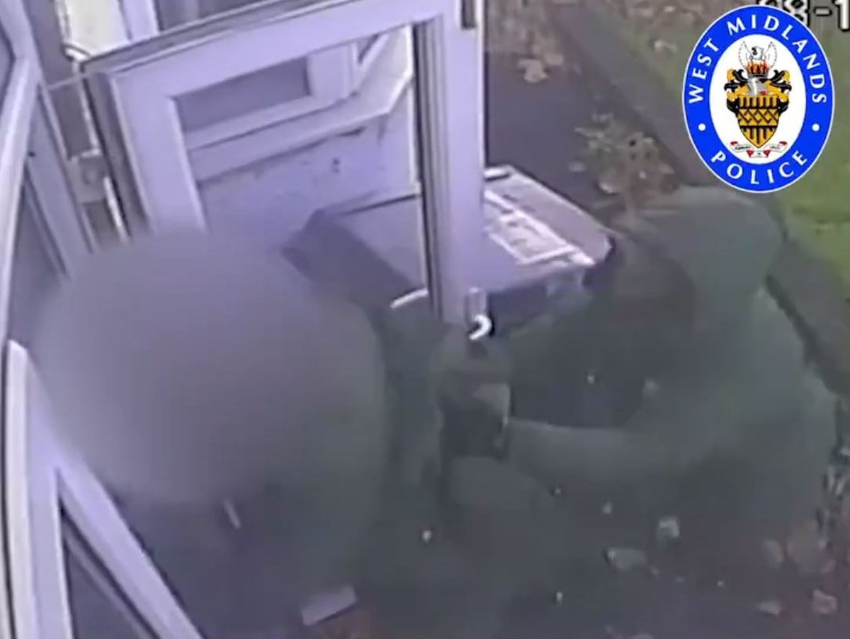 WATCH: Appeal as Wolverhampton pensioner attacked on his doorstep