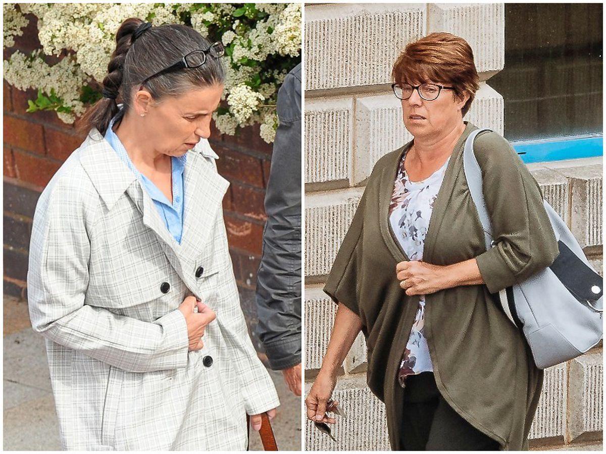 Former school headteacher Michelle Hollingsworth and secretary Deborah Jones have been jailed for their roles in the fraud