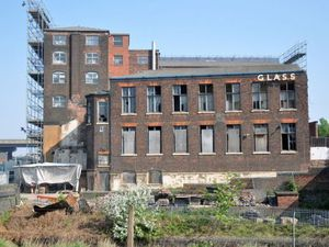 The Chance Glassworks building is seen by thousands of motorists travelling on the M5 every day