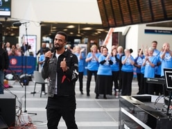 Craig David stuns commuters with live show in New Street Station