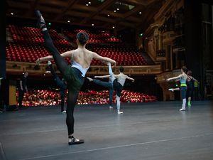 Photo: Ty Singleton            Birmingham Royal Ballet dancers