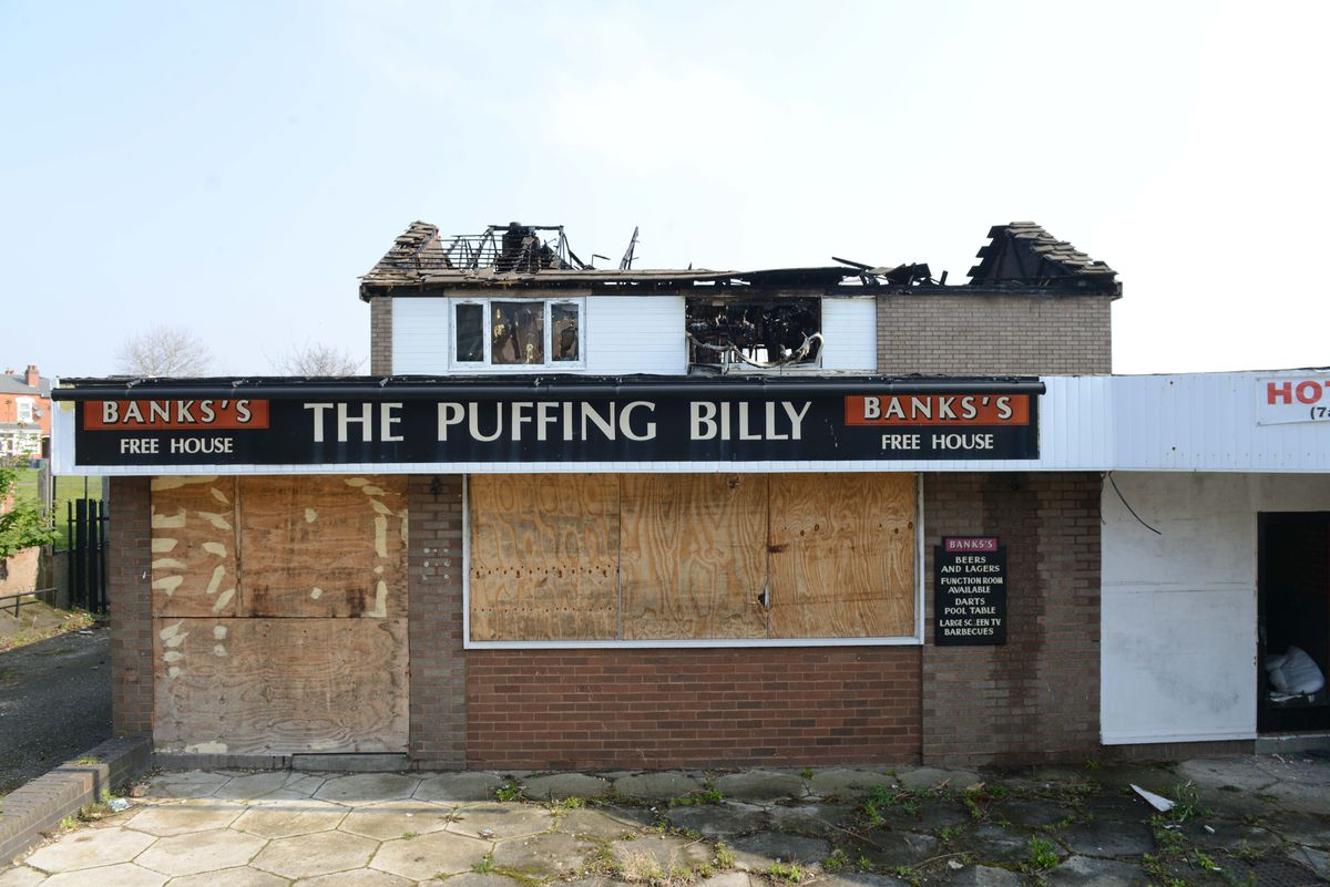 The Puffing Billy in Smethwick
