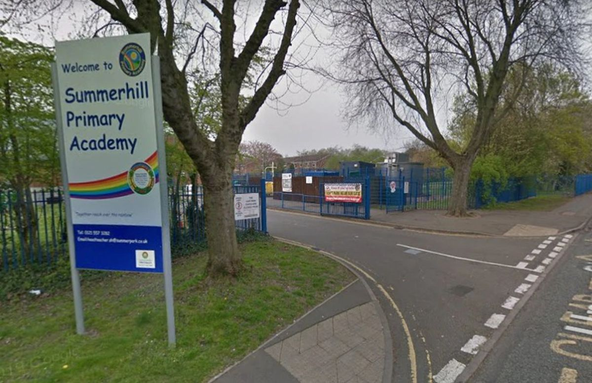 Summerhill Primary Academy in Tipton. Picture by Google