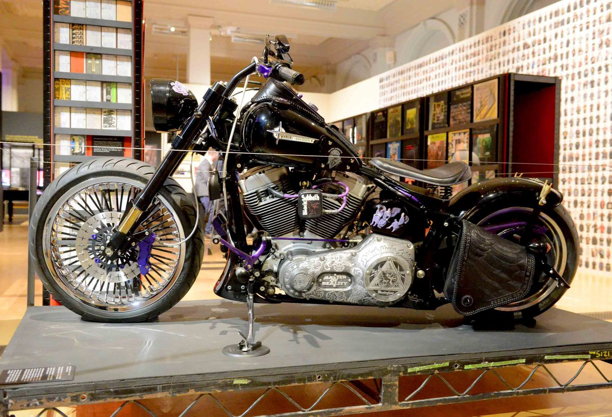 A Sabbath themed bike