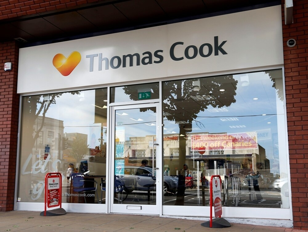 Jobs saved as Hays Travel buys 555 Thomas Cook stores