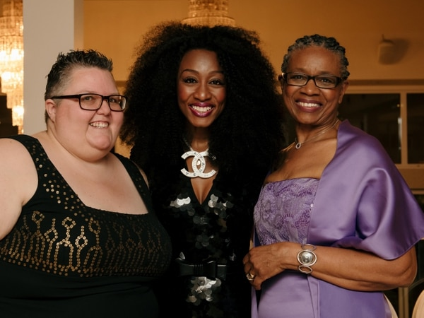 Beverley Knight sings for her mum at Wolverhampton charity ball