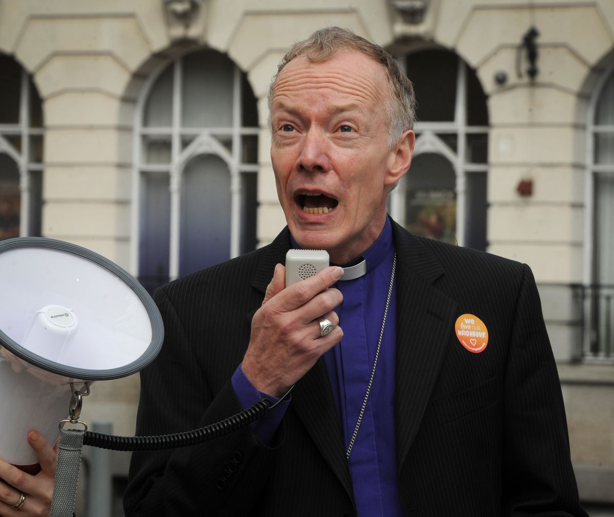The Rt Revd Clive Gregory, the Bishop of Wolverhampton