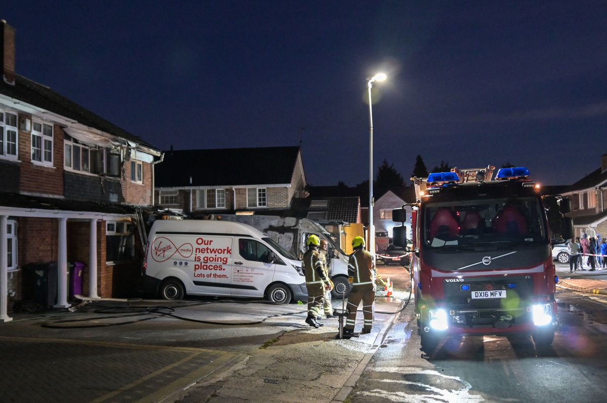 Fire crews were called at around 6pm. Photo: Snapper SK
