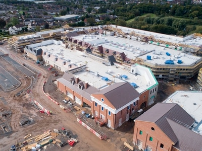 £160m Cannock designer outlet construction 'ahead of schedule'