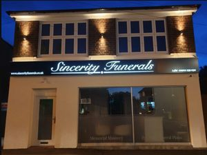 The offices of Sincerity Funerals in Trysull Road, Merry Hill, Wolverhampton. Photo: Sincerity Funerals