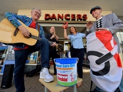 Day of busking helps cancer care hospital unit