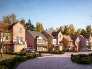 An artist's impression of proposed new homes on land behind Cricket Close. Picture: BM3 Architecture