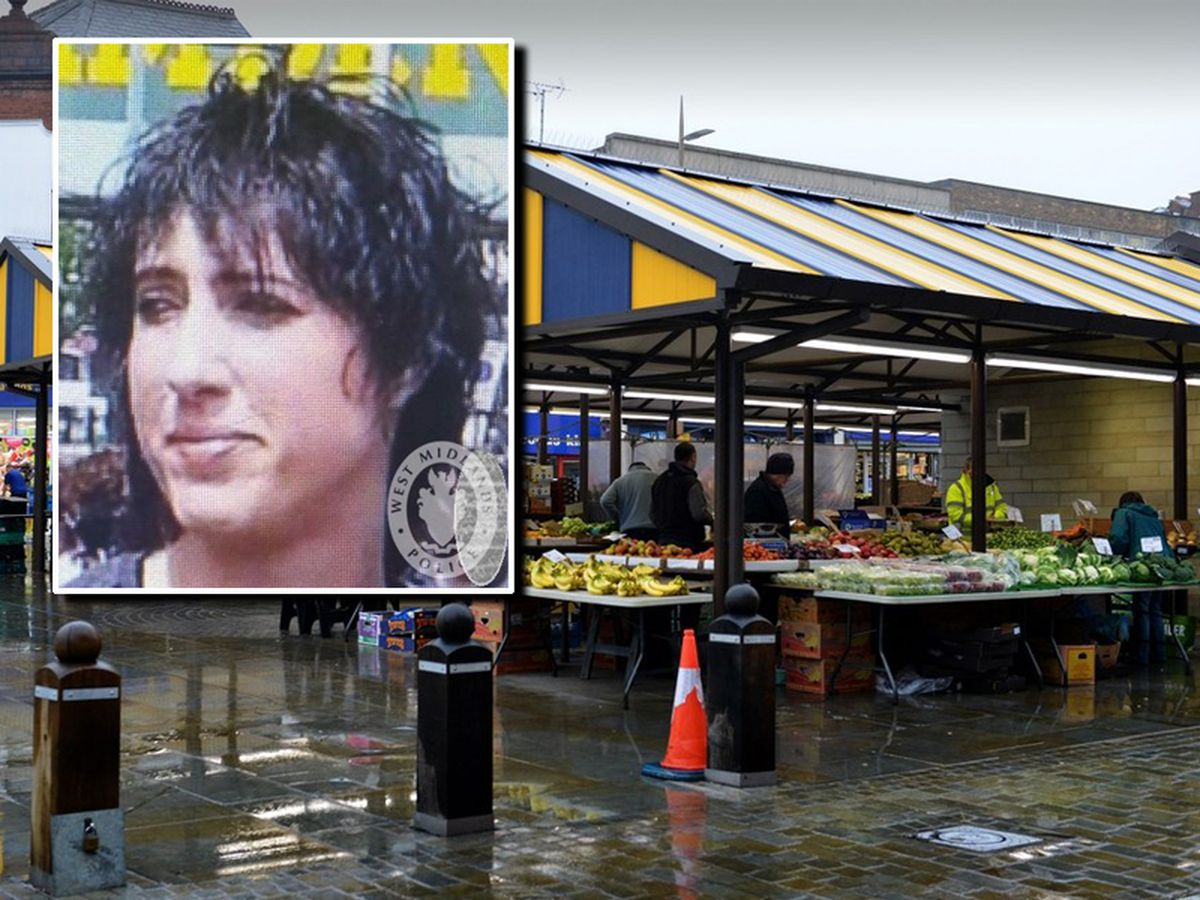 Julia Rawson, inset, used to be a trader at Dudley Market