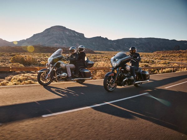 BMW R18B and Transcontinental