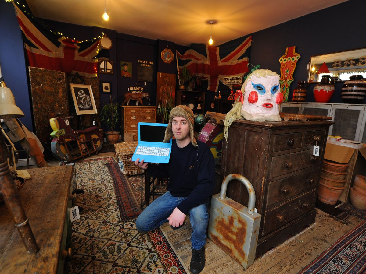 Tom Murray of Nothing New in Stafford is one of the Salvage Sunday Dealers community showcasing his stock