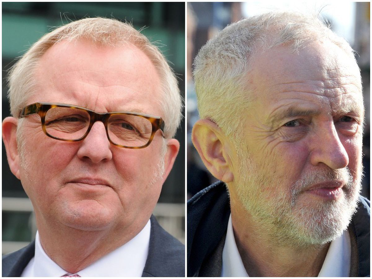 Ian Austin, left, stood down from Dudley North after criticising Labour leader Jeremy Corbyn