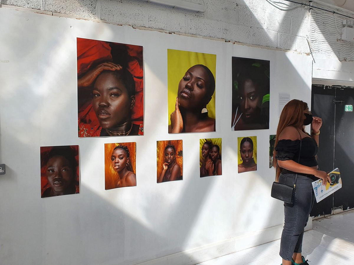Photographers from across the world had submitted pieces to the exhibition