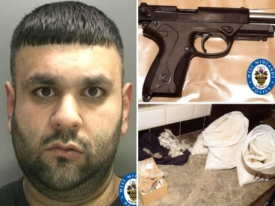 JAILED: Walsall drug dealer had loaded gun hidden in cooker