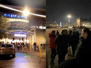 Queues outside Primark