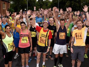 Wolverhampton Marathon 2016: Numbers up as runners take on new-look route