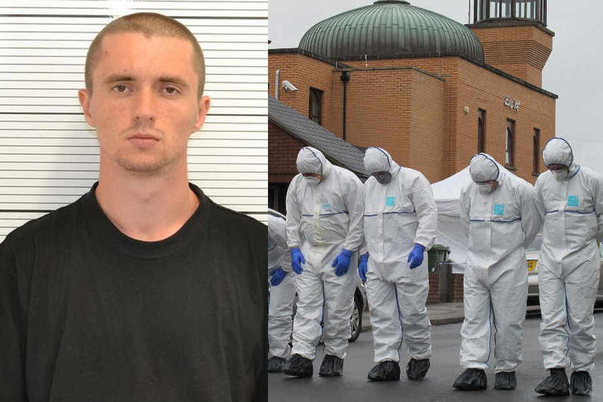 Ukrainian student in one man racist reign of terror targeting Black Country mosques