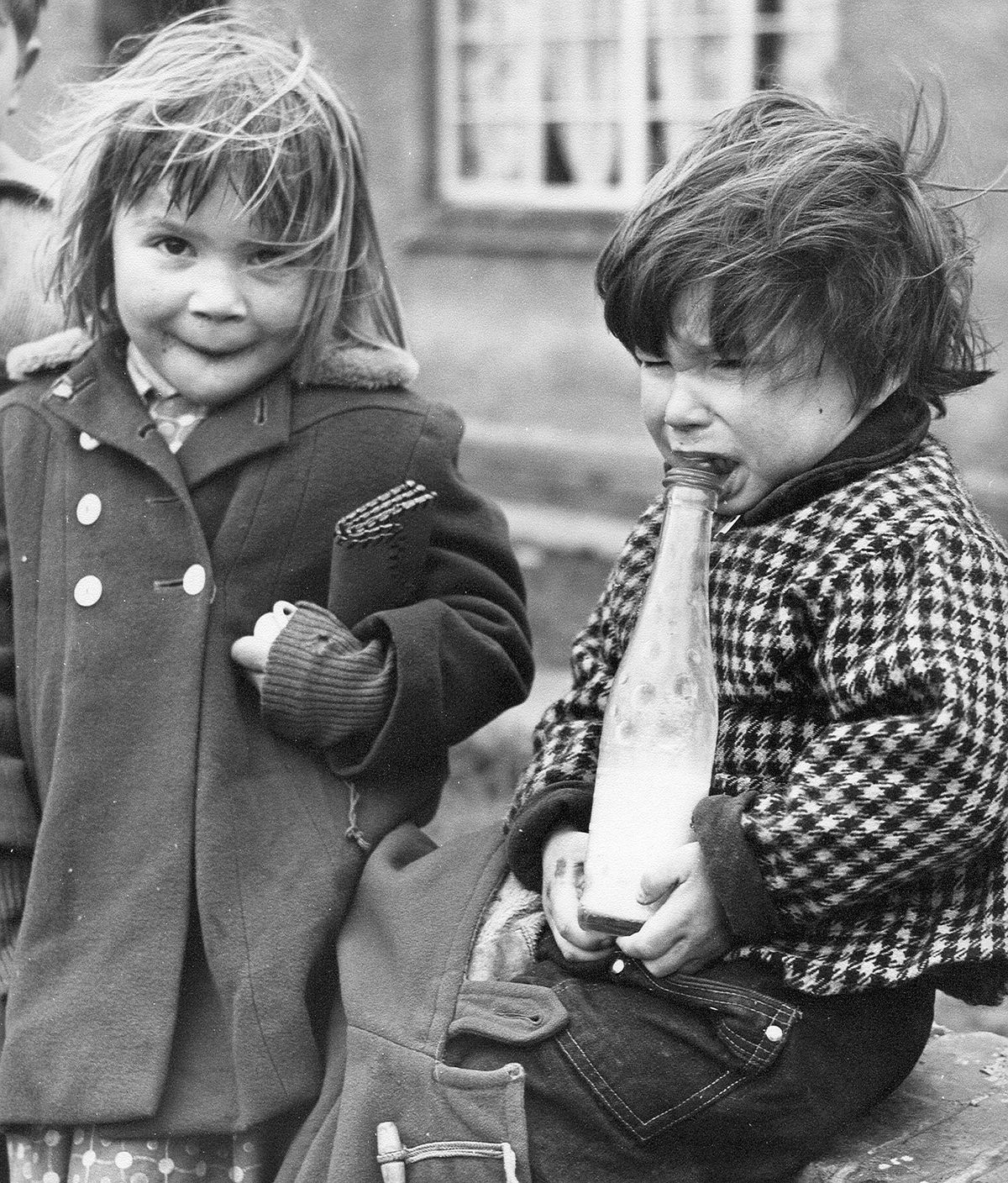Two Black Country kids