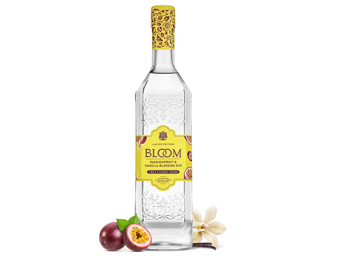 Bloom Passion Fruit & Vanilla Blossom Gin