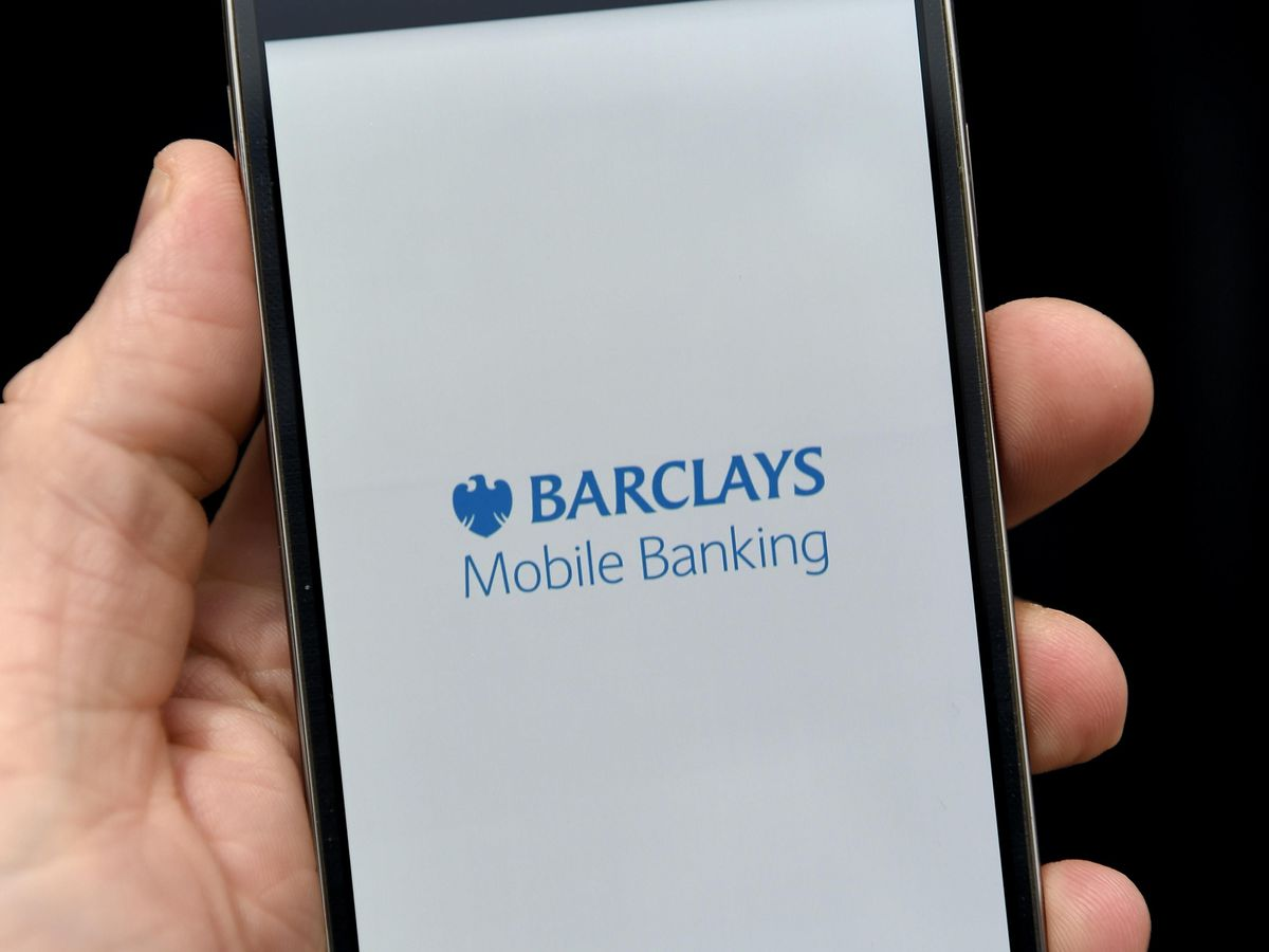 Barclays' mobile banking app