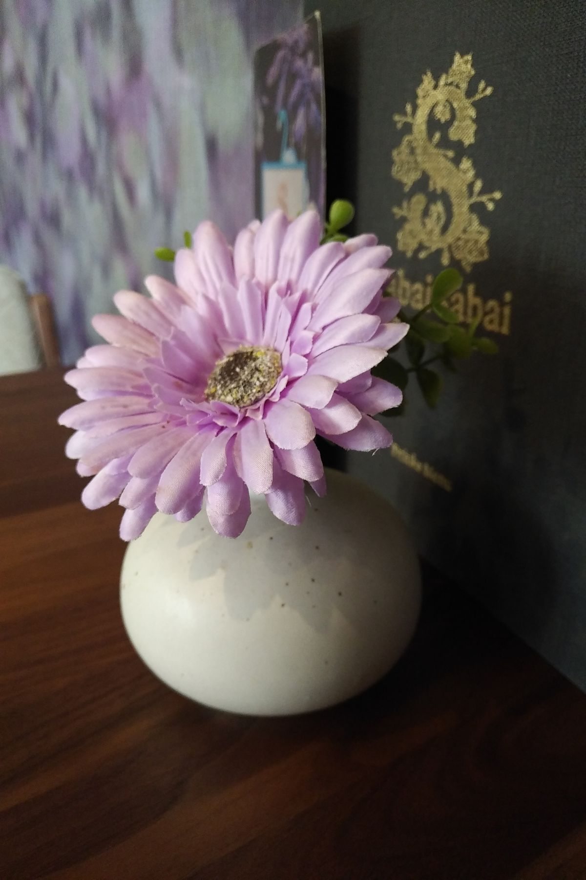 Flowers - made from fine, pink plastic