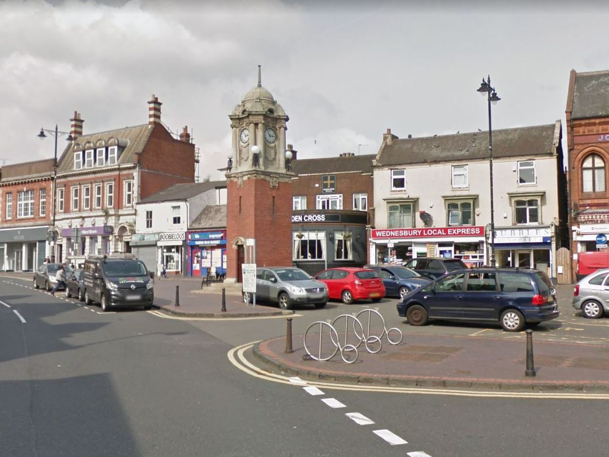 Market Place in Wednesbury. Picture: Google