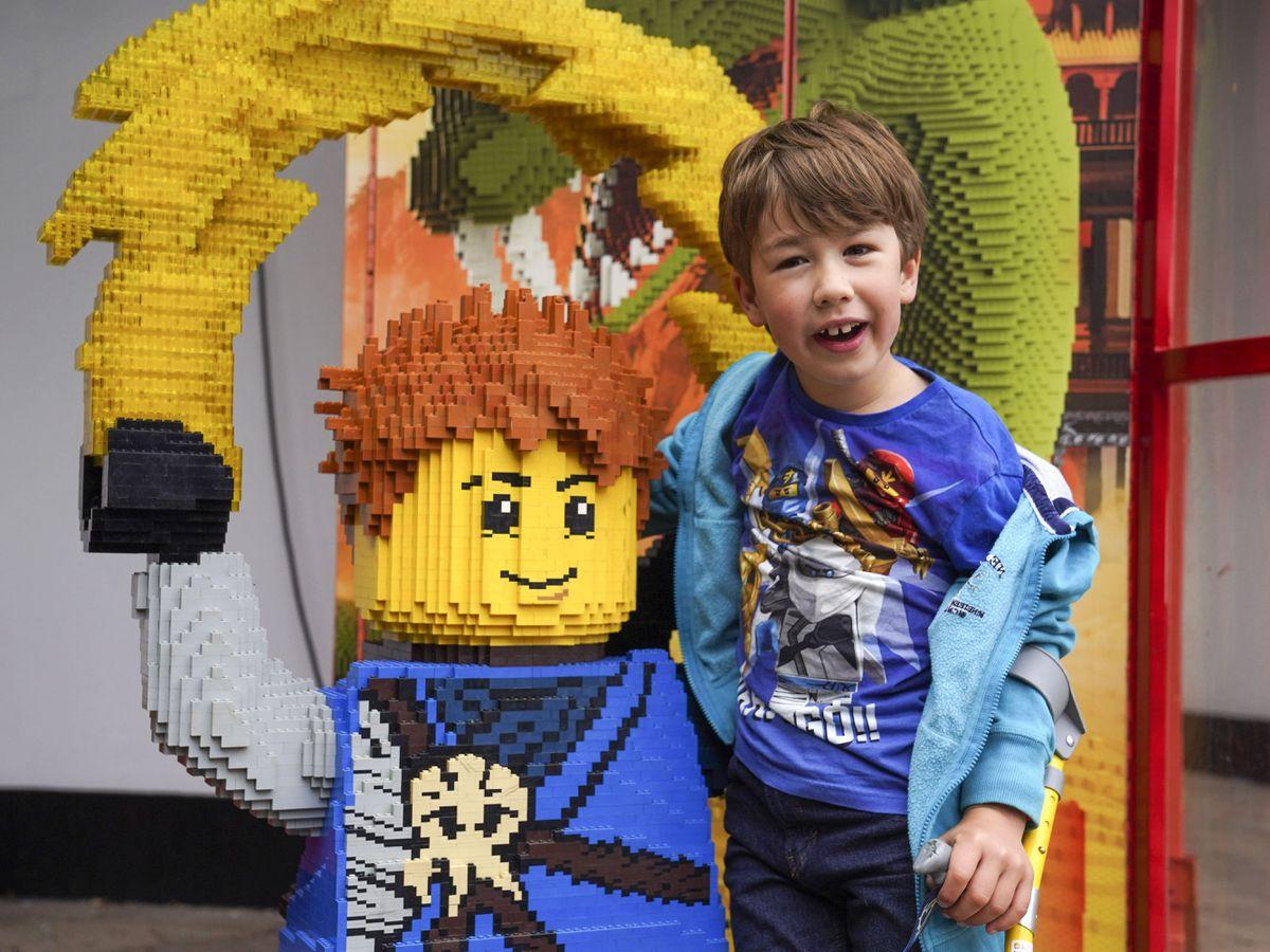 Brett family visit to Legoland