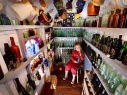 Business-savvy Black Country seven-year-old opens own antique bottle shop