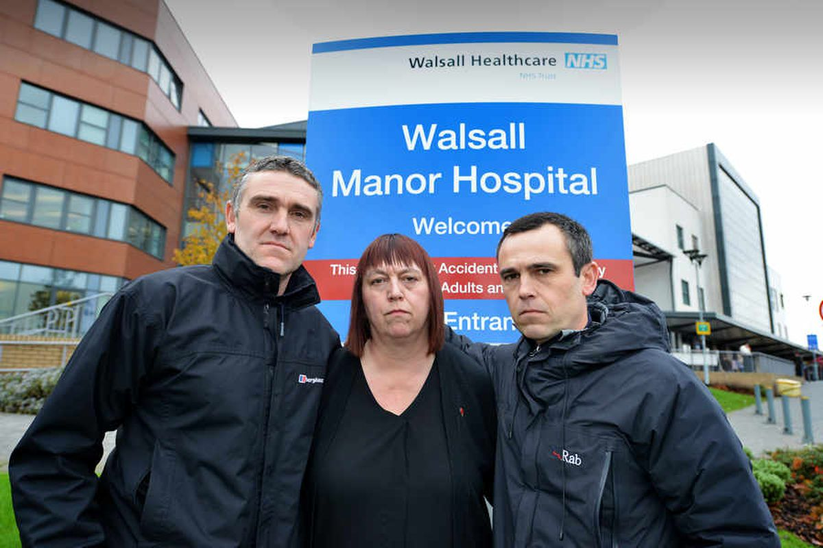 Walsall Manor Hospital cancer misdiagnosis: Family vow to get justice for mother