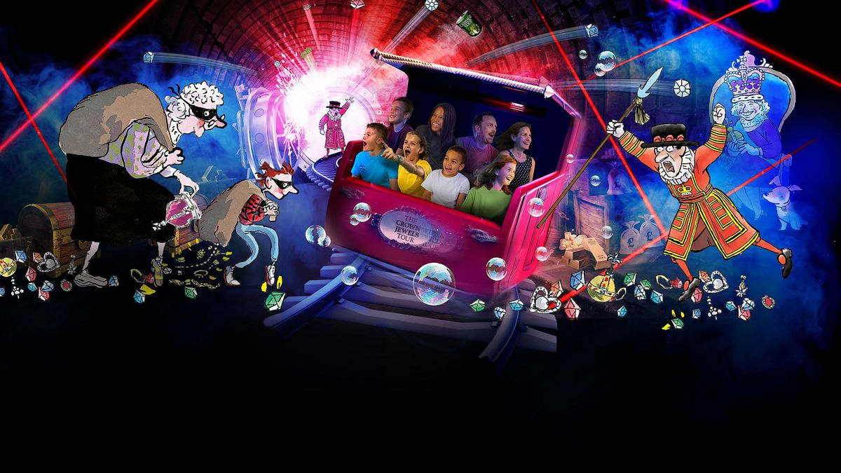 Gangsta Granny: The Ride launches on Monday at Alton Towers