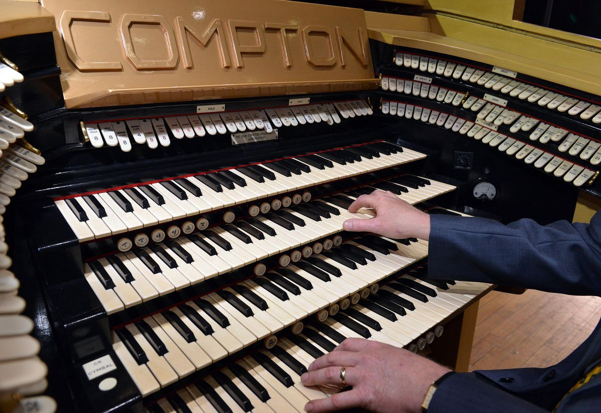 The organ console has not been scrapped
