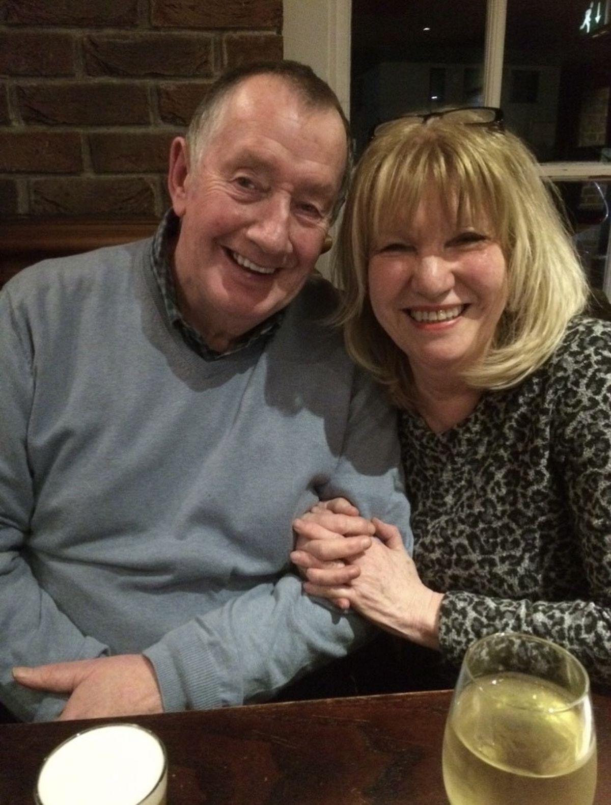 Stuart Chapman and Vicky Chapman