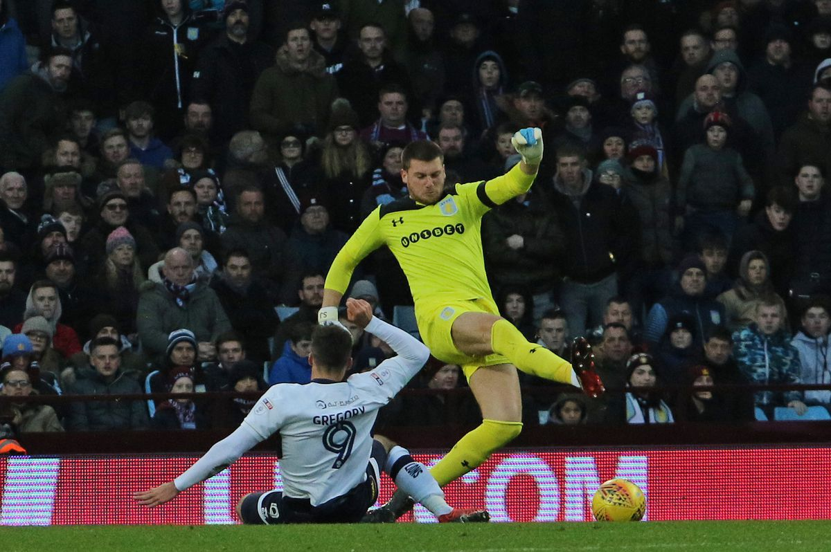 Sam Johnstone has been in sparkling form for Villa Pic: Tony Marsh.