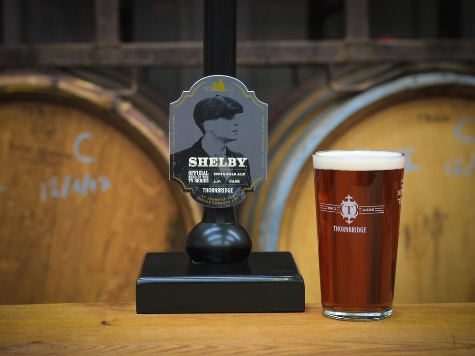 Official Shelby beer launched by order of the Peaky Blinders