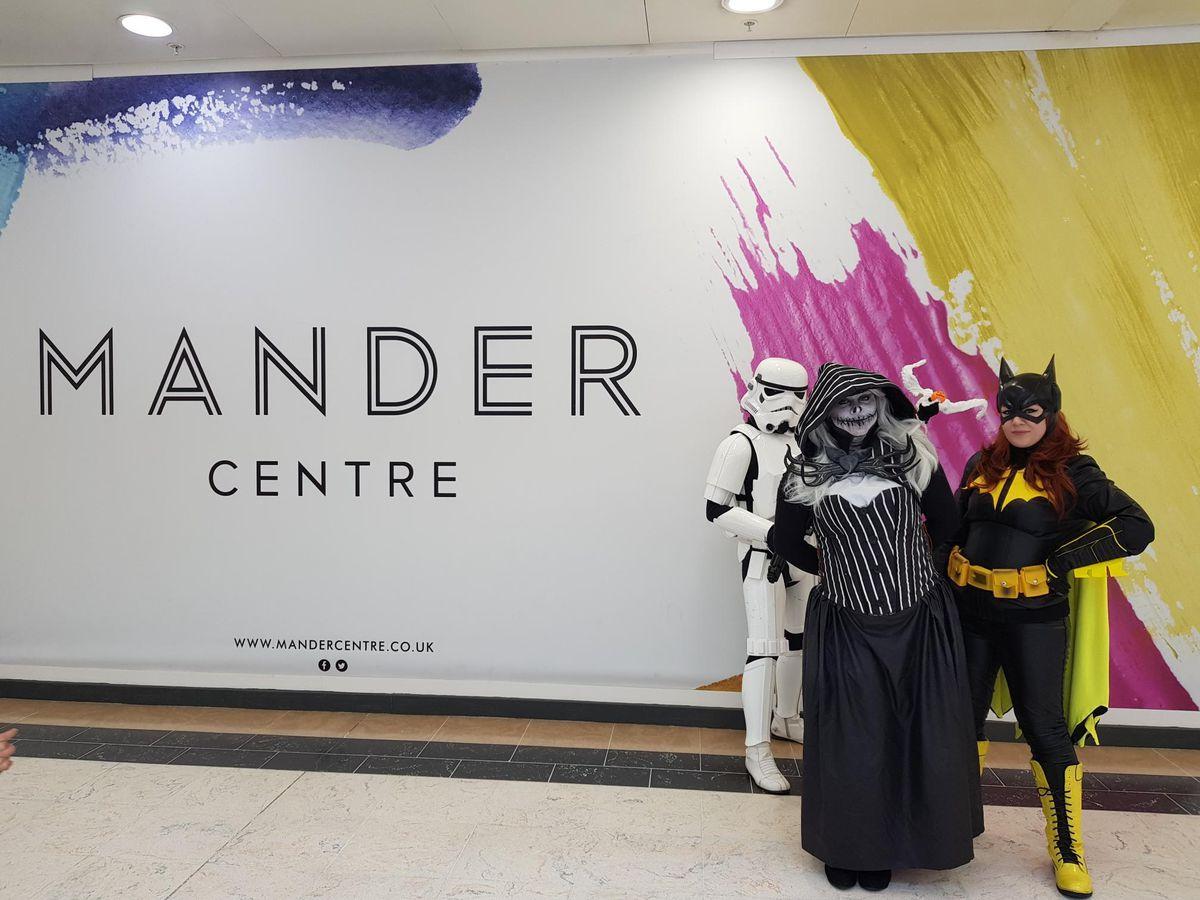 Comic con comes to the Mander Centre