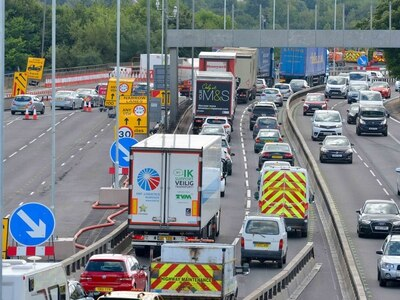M5 roadworks face six-month delay due to hot weather