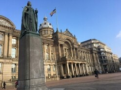 Leaves cleared in £400k tidy up in Birmingham city centre