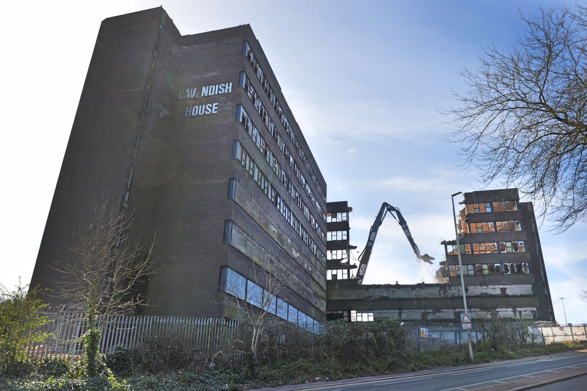 Cavendish House was demolished in the spring of 2020
