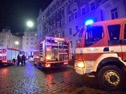 Two killed, dozens injured in Prague hotel blaze