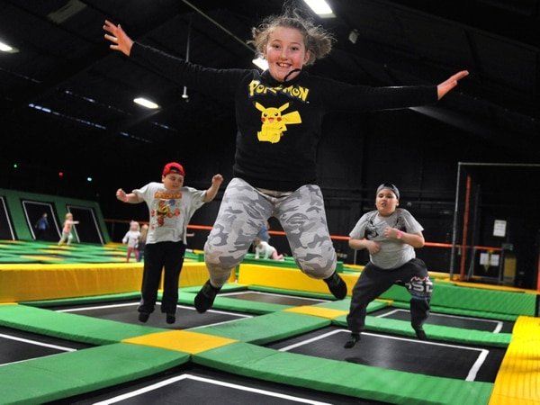 Leaping into action at Dudley trampoline park