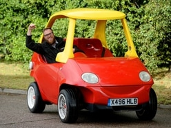 WATCH: Giant Cozy Coupe leaves people stunned and feeling nostalgic