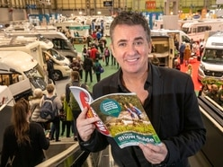 Shane Richie in Birmingham to open Caravan, Camping and Motorhome Show - in pictures