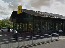 Drink driver caught after parking sideways over three bays in McDonald's car park