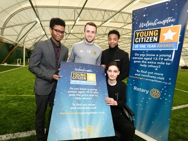 Wolves stars back Young Citizen award