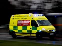 Driver suffers serious leg injuries in crash