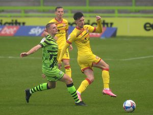 SPORT COPYRIGHT EXPRESS&STAR TIM THURSFIELD-03/10/20.FOREST GREEN ROVERS V WALSALL.Rory Holden.